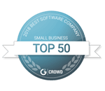 G2 Crowd - Top 50 Small Business in 2018